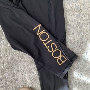 508cab5d4c lululemon athletica Pants - Lululemon x Soulcycle Boston Crop Leggings
